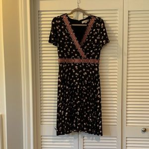 Floral midi dress. Great condition.
